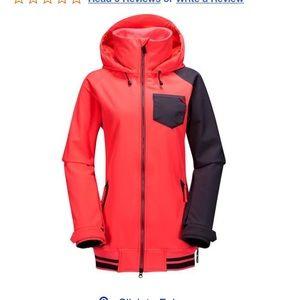 Volcom pistol softshell snowboard jacket